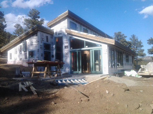 South Elevation / Sun Deck