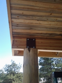 Beetle Kill Soffit (Natural Stain)