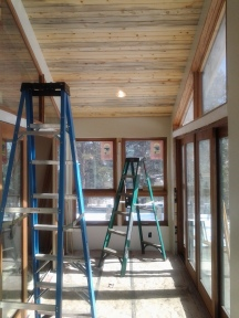Sunroom Ceiling Paneling