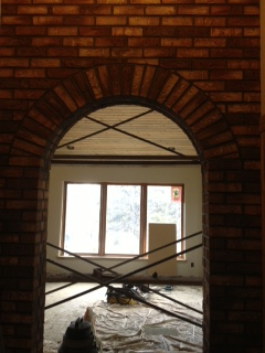 Master Archway to Living Room