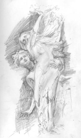Apollo and Daphne by Bernini, Rome