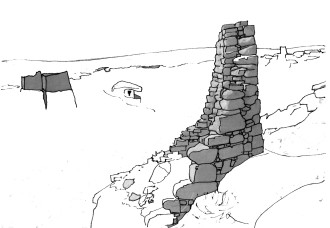 Hovenweep sketch