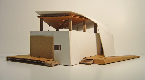 Solar Decathlon_early study model_RISD