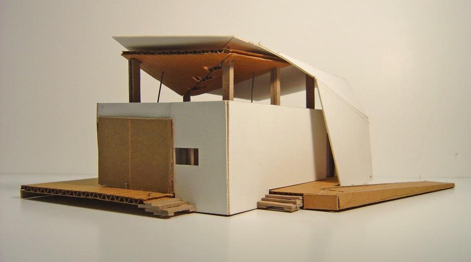 Solar Decathlon_early study model_RISD