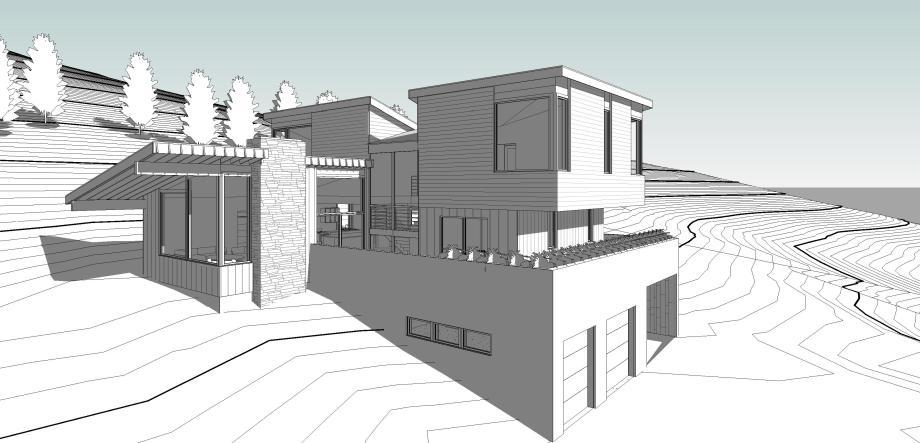 Flenniken_Site - 3D View - EXT - South