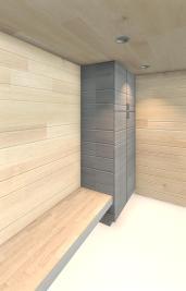 Beckler_Sauna - 3D View - INT-Changing