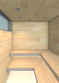 Beckler_Sauna - 3D View - INT-Sauna 2