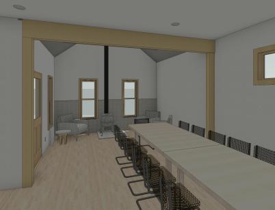 Regester_Permit - 3D View - INT - Parlor