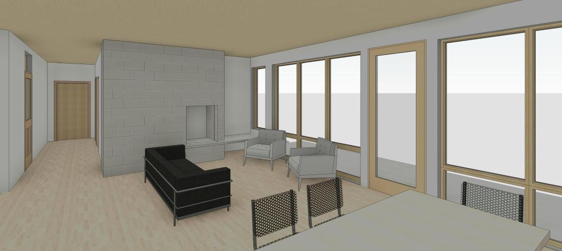 Woodbury_Residence_V4 - 3D View - 3D View 3